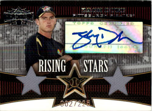 Photo of 2006 Topps Triple Threads #101 Zach Duke AU J-J