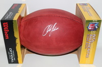 NFL - CHIEFS CHRIS JONES SIGNED AUTHENTIC FOOTBALL