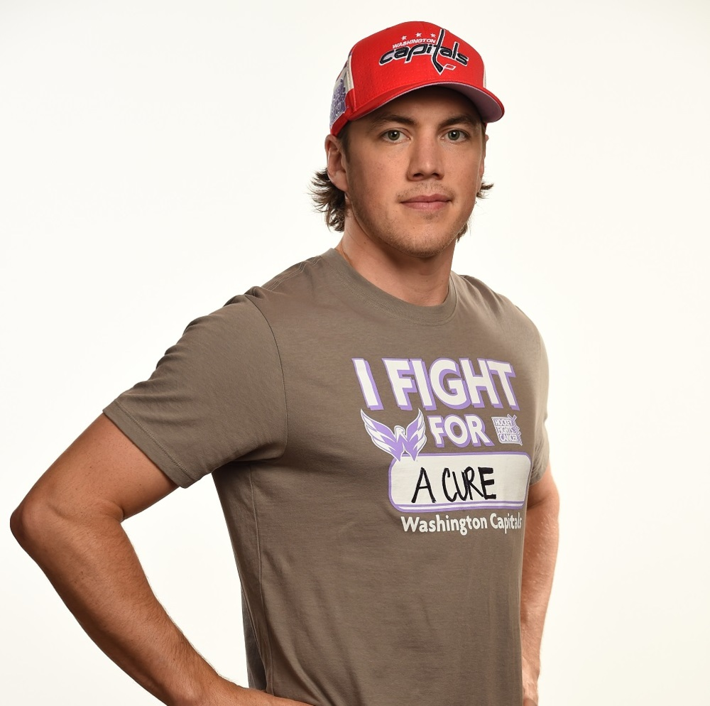 TJ Oshie 2017 HFC Player Cap from Player Media Tour - Washington Capitals