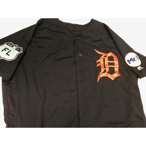 Team-Issued Justin Verlander Road Spring Training Jersey