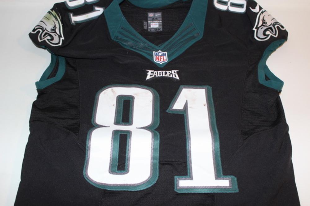 NFL Auction   BCA - EAGLES JORDAN MATTHEWS GAME WORN EAGLES JERSEY ...
