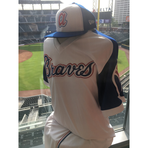 Photo of Walt Weiss Game-Used 1974 Uniform