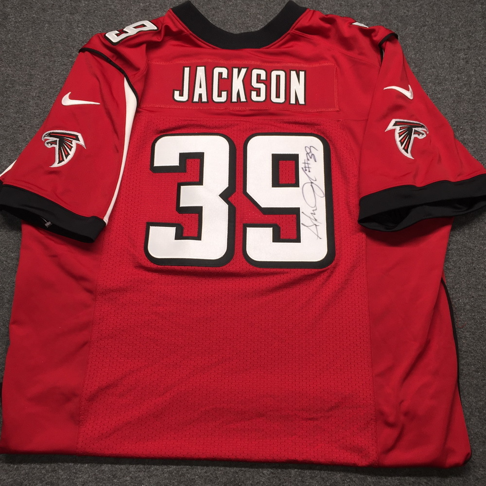 Falcons - Steven Jackson signed authentic Falcons jersey - Size 48
