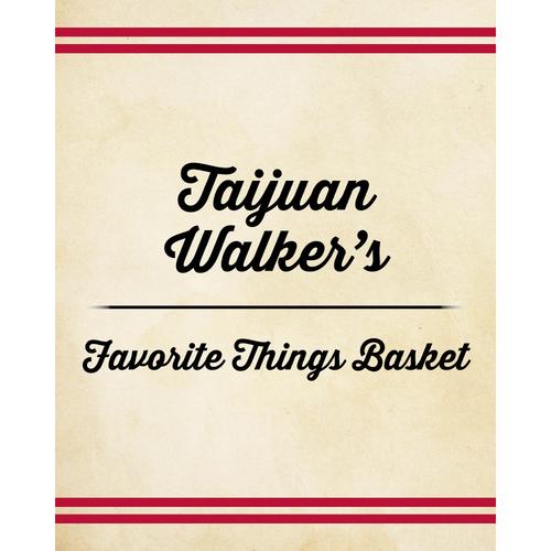 Photo of Taijuan Walker's Favorite Things Basket