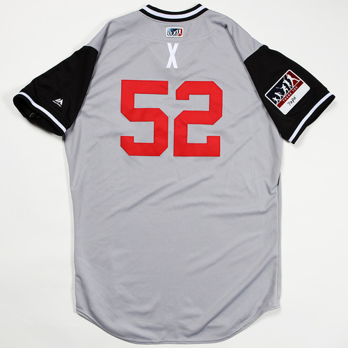 "Photo of Xavier ""X"" Cedeno Chicago White Sox Game-Used Jersey 2018 Players' Weekend Jersey"