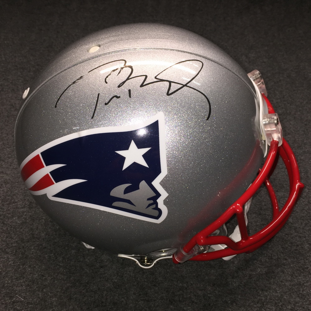 new styles 62d08 4e324 NFL Auction | PCF - Patriots Tom Brady signed Patriots ...