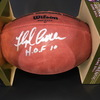 HOF - Broncos Floyd Little Signed Authentic Football