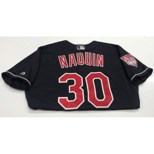 Photo of Tyler Naquin Game-Used 2019 Spring Training Jersey
