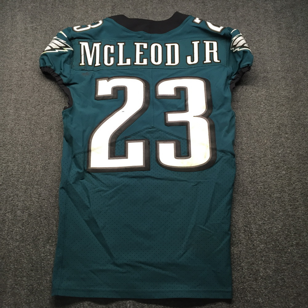 NFL Auction | Crucial Catch - Eagles Rodney McLeod Game Used ...