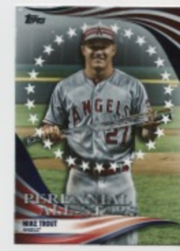 2019 Topps Update Perennial All Stars #PAS30 Mike Trout