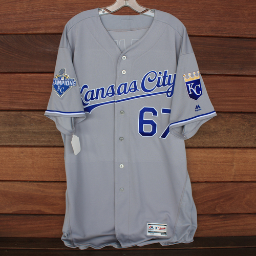 Photo of Autographed World Series Jersey: Chien-Ming Wang (Size 50)