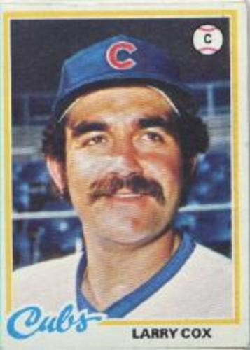 Photo of 1978 Topps #541 Larry Cox