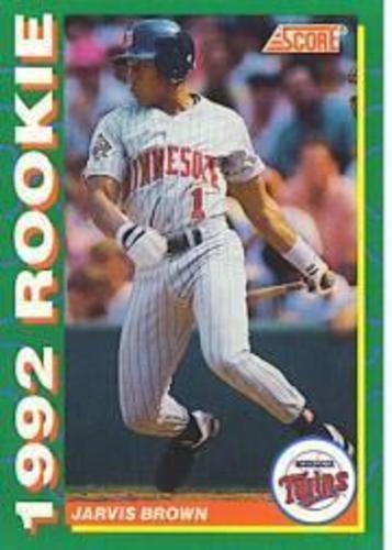 Photo of 1992 Score Rookies #27 Jarvis Brown