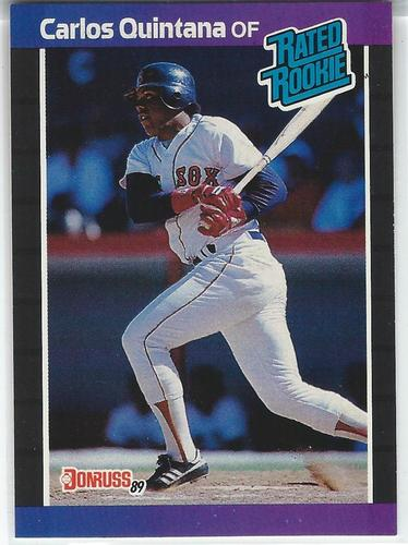 Photo of 1989 Donruss #37 Carlos Quintana RR RC