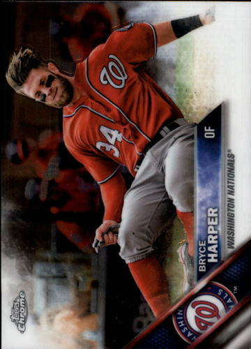 Photo of 2016 Topps Chrome #200A Bryce Harper