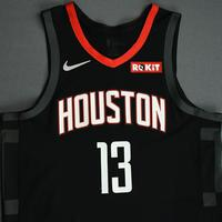 James Harden - Houston Rockets - Game-Worn Statement Edition Jersey - NBA Japan Games - Scored Game-High 34 Points - 2019-20 NBA Season
