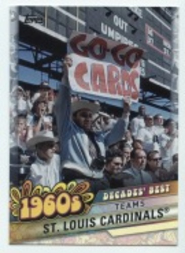 Photo of 2020 Topps Decades' Best #DB25 St. Louis Cardinals