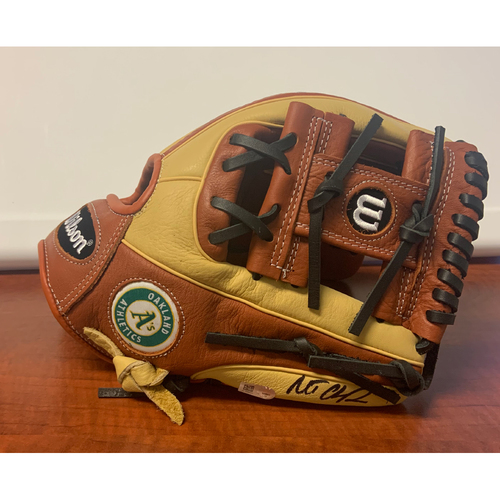 Photo of Oakland A's Community Fund: Matt Chapman Autographed Glove