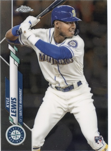 Photo of 2020 Topps Chrome #186 Kyle Lewis RC