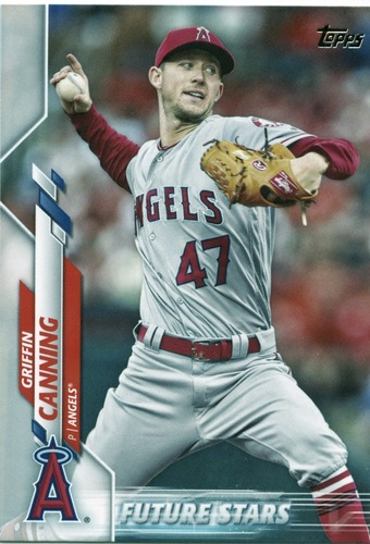 Photo of 2020 Topps #447 Griffin Canning FS