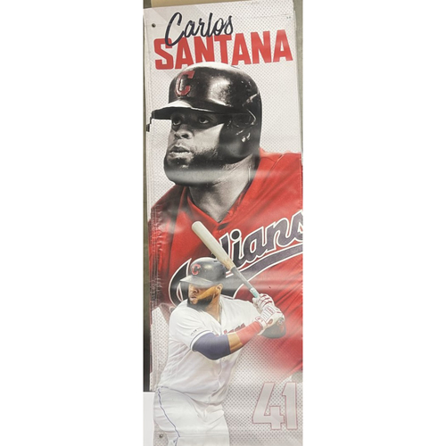 Photo of Team Issued Street Banner - Carlos Santana