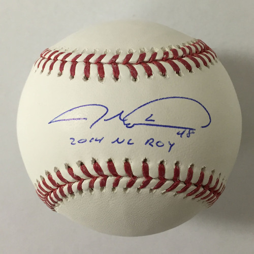 Jacob deGrom Autographed