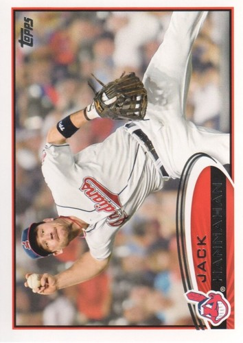 Photo of 2012 Topps #541 Jack Hannahan