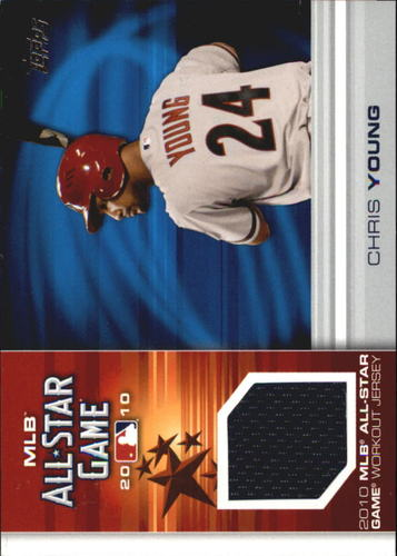 Photo of 2010 Topps Update All-Star Stitches #CY Chris Young