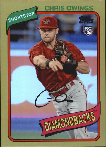 Photo of 2014 Topps Archives Gold #98 Chris Owings