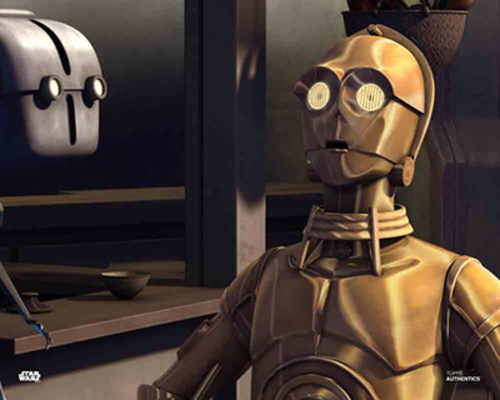 Todo 360 and C-3PO