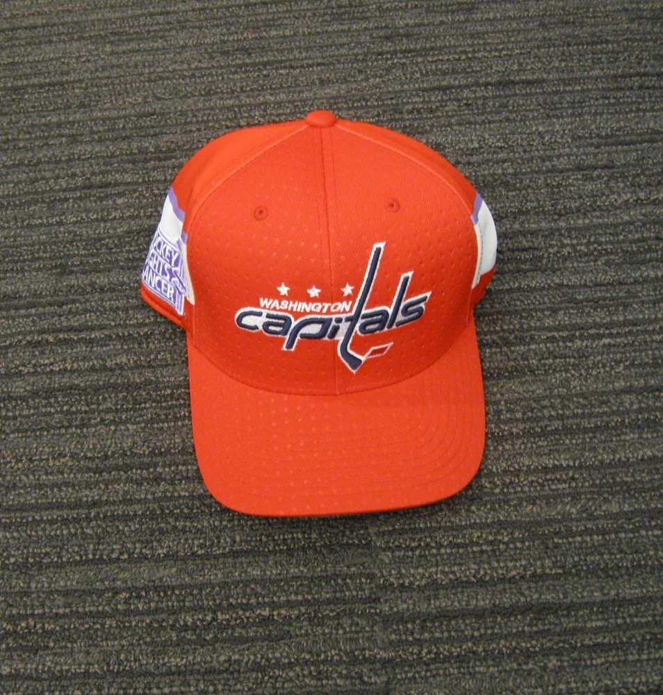 Braden Holtby 2017 HFC Player Cap from Player Media Tour - Washington Capitals