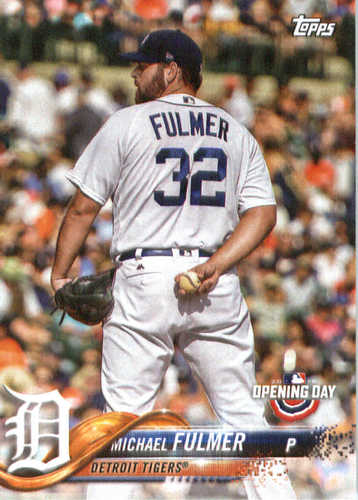 Photo of 2018 Topps Opening Day #47 Michael Fulmer