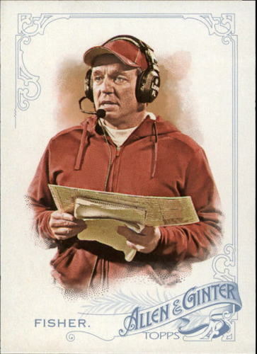 Photo of 2015 Topps Allen and Ginter #268 Jimbo Fisher