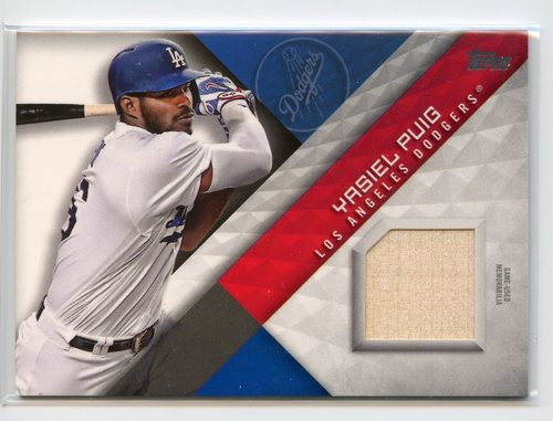 Photo of 2017 Topps Major League Materials #MLMYP Yasiel Puig