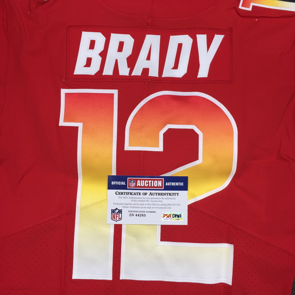 NFL Auction | NFL - Patriots Tom Brady 2018 game issued AFC Pro ...