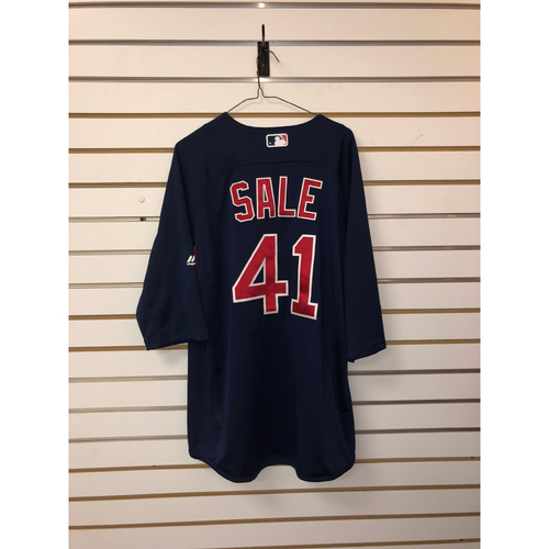 Photo of Chris Sale Team-Issued Road Batting Practice Jersey