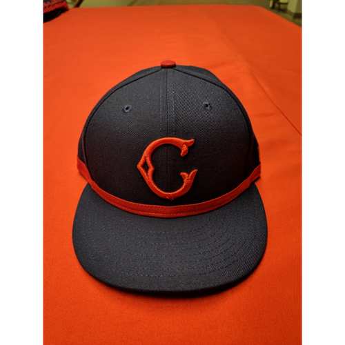 Photo of Jose Iglesias -- Game-Used Cap -- 1911 Throwback worn 5/5/19 (Starting SS, 0-for-4)