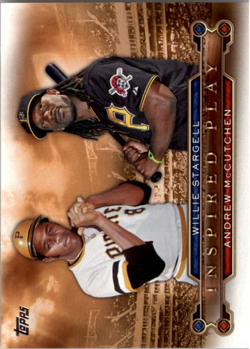 Photo of 2015 Topps Inspired Play #I15 Andrew McCutchen/Willie Stargell