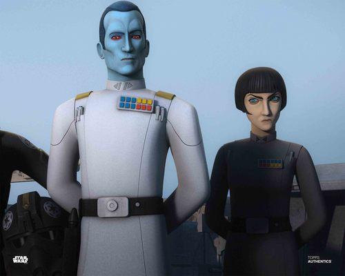 Grand Admiral Thrawn and Arihnda Pryce
