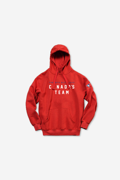 Toronto Blue Jays Canada's Team Hoodie by Peace Collective