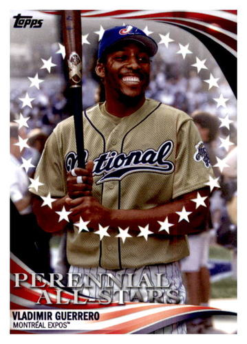 Photo of 2019 Topps Update Perennial All Stars #PAS39 Vladimir Guerrero