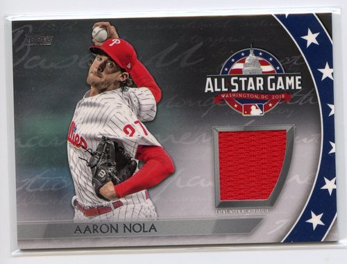 Photo of 2018 Topps Update All Star Stitches #ASTAN Aaron Nola