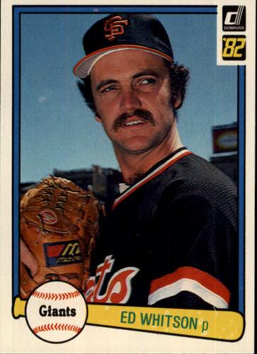 Photo of 1982 Donruss #251 Ed Whitson