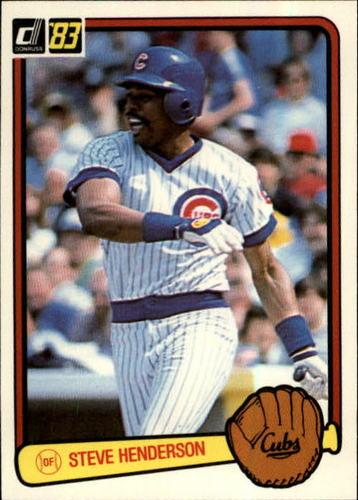 Photo of 1983 Donruss #252 Steve Henderson