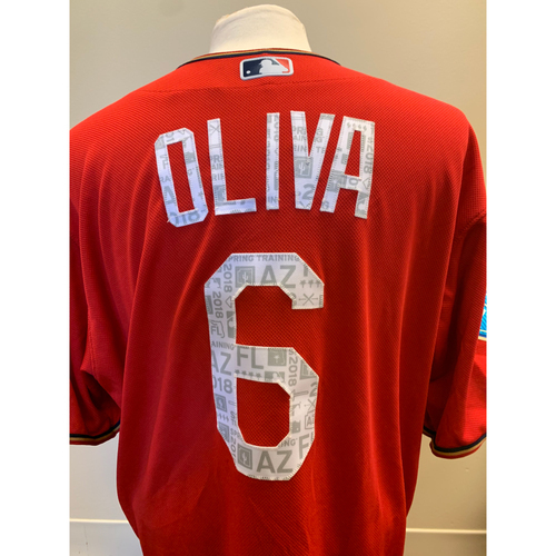 Photo of Minnesota Twins - 2018 Team-Issued Spring Training Jersey - Tony Oliva