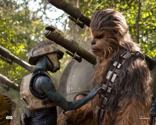 Chewbacca and Lazu Lirona