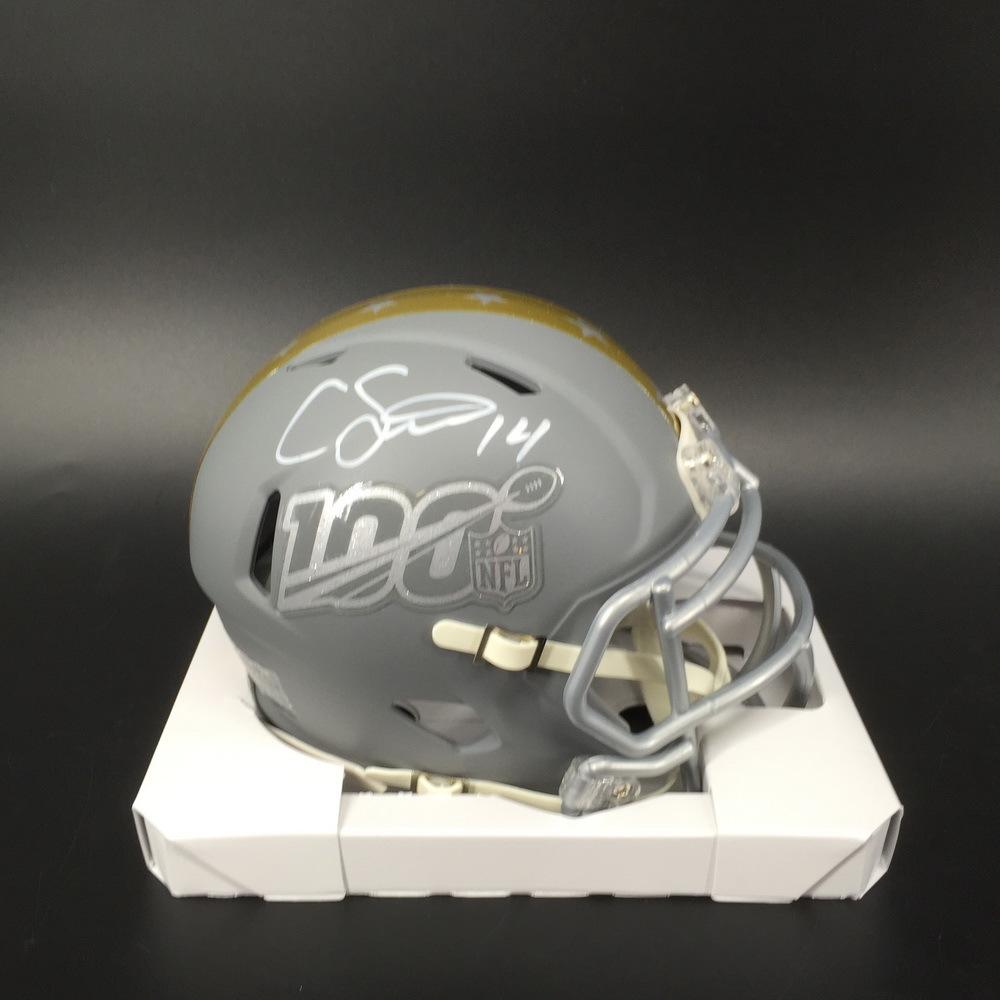 NFL - Broncos Courtland Sutton Signed Pro Bowl 2020 Mini Helmet