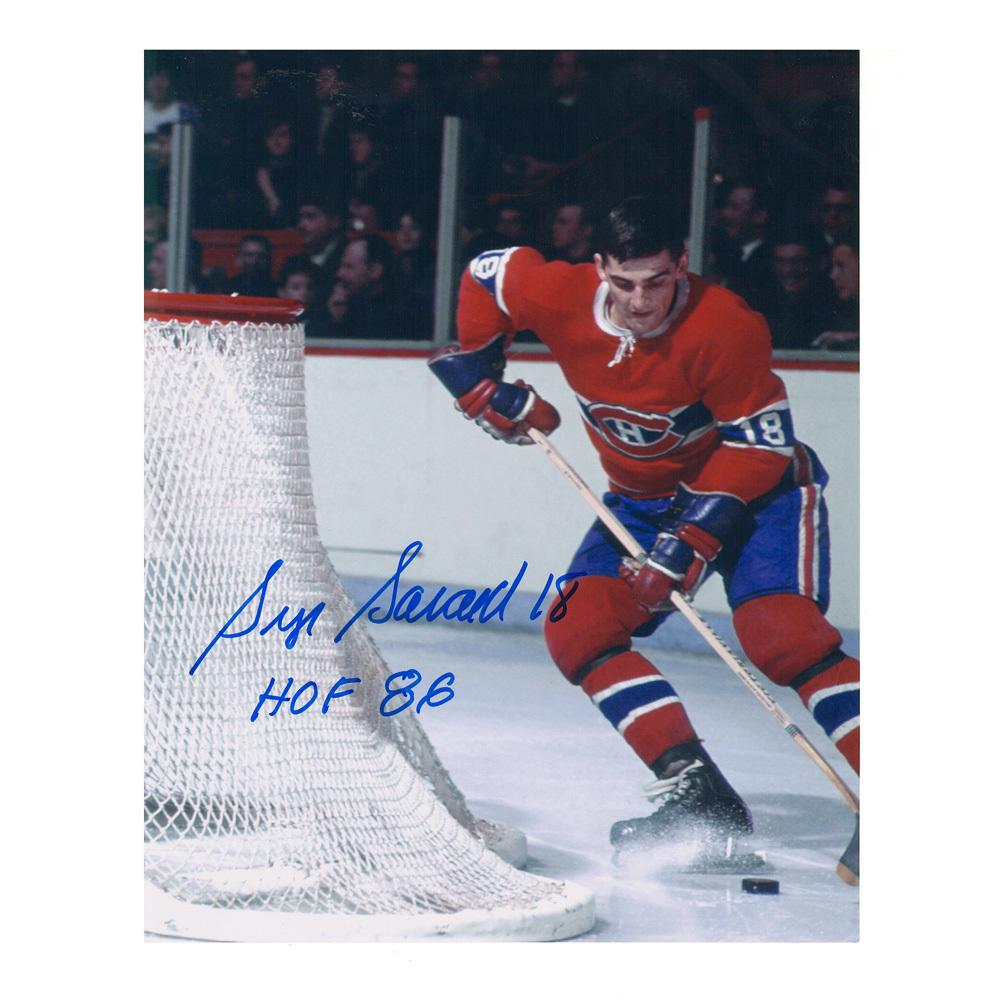SERGE SAVARD Signed Montreal Canadiens 8 X 10 Photo - 70251