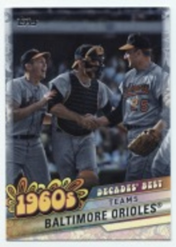 Photo of 2020 Topps Decades' Best #DB27 Baltimore Orioles