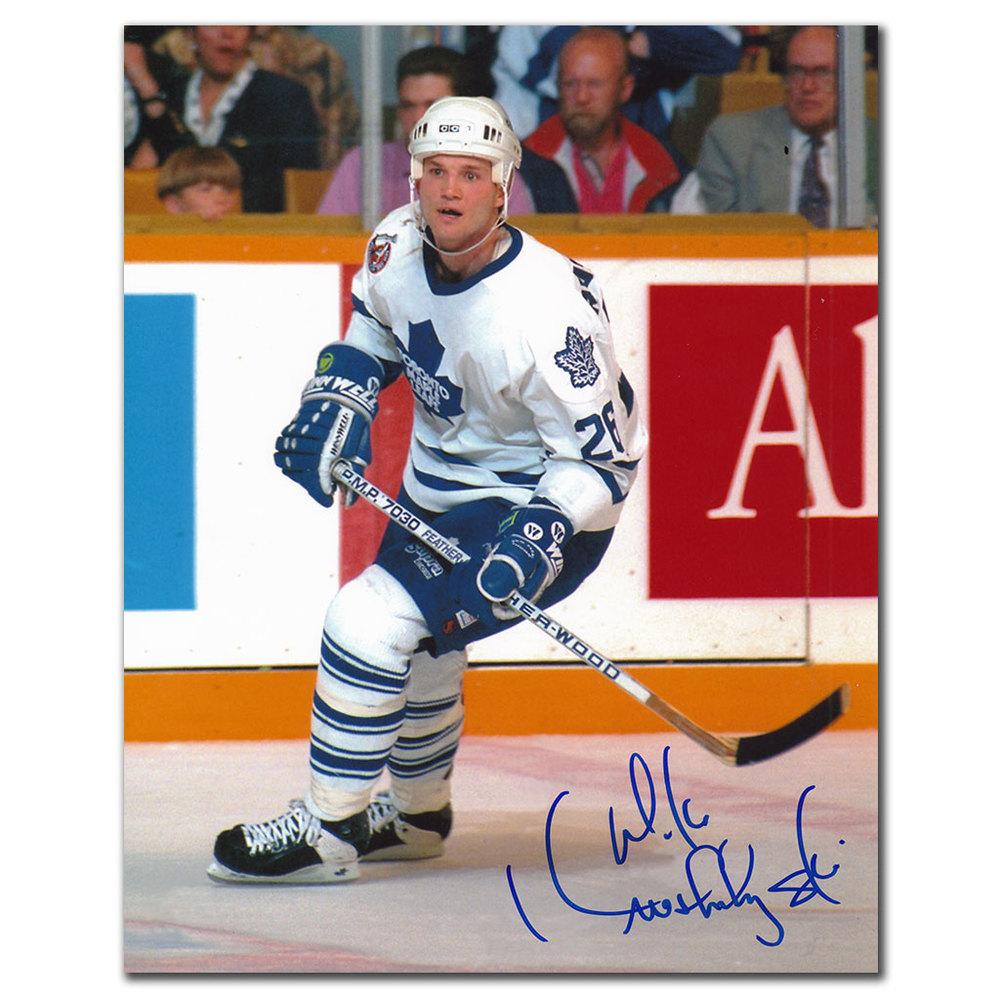 Mike Krushelnyski Toronto Maple Leafs Autographed 8x10